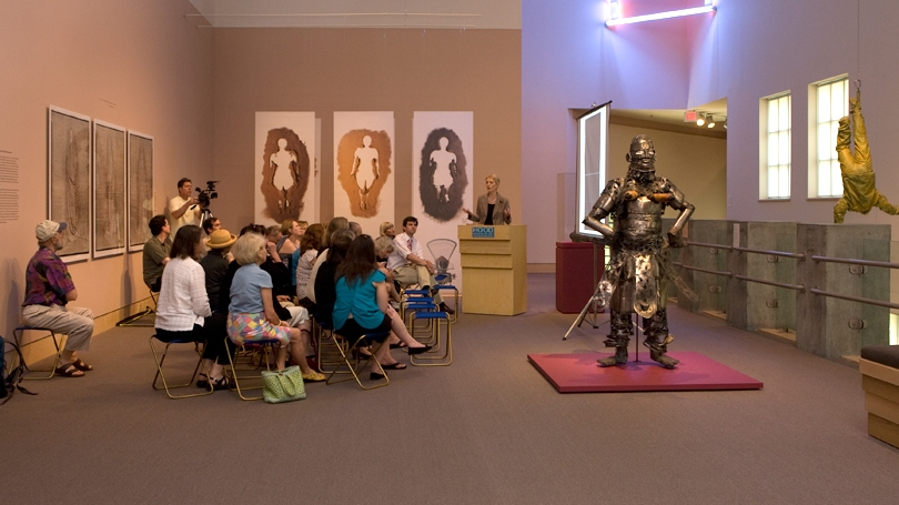 """African Body"" Exhibit in the Hood Museum"