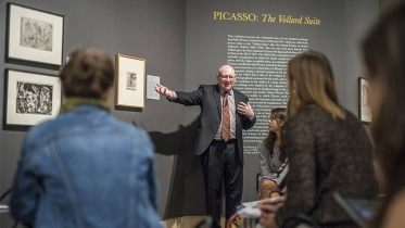 """The Hood Museum's Picasso exhibition, """"The Vollard Suite"""""""