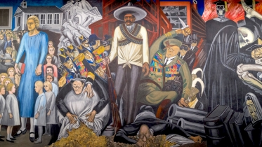 "Jose Clemente Orozco's ""The Epic of American Civilization,"""